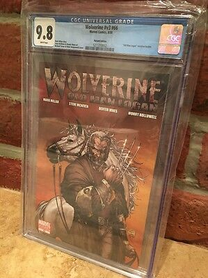 Wolverine #66 66 CGC 9.8 WP 1:50 Michael Turner Variant Cover 1st Old Man Logan