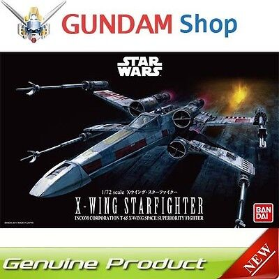 BANDAI Star Wars 1/72 X-Wing Starfighter No. 191406 JAPAN