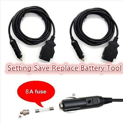 Car Memory Saver & Battery Replace Setting Battery Tool 3M OBD2 ECU Emergency