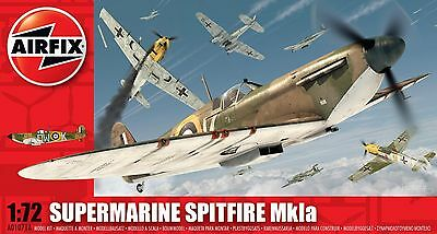 Airfix 1:72 Supermarine Spitfire MkIa #A01071A Plastic Model Kit