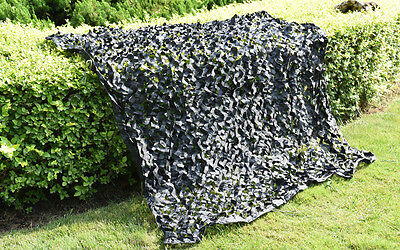 Military Hunting Green Camouflage Blinds Netting Black Fire Retardant Camo Net