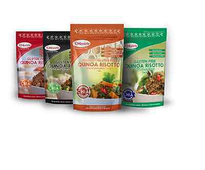 Morlife Quinoa Risotto 4 Pack x2 | Gluten Free | Healthy | Superfood