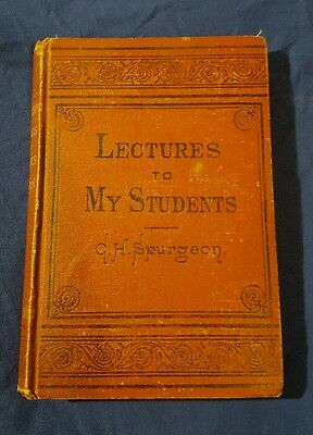 Lectures to my students - C.H. Spurgeon (1875 Edition)