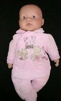 BIG 52cm BERENGUER Baby Doll soft body vinyl arms and legs Exc Cond