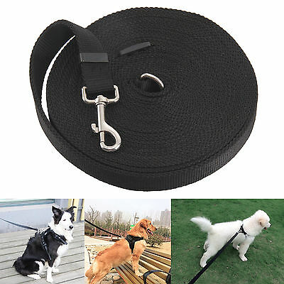 50ft 15M Extra Long Dog Pet Training Obedience Lead Leash Large 25mm Webbing