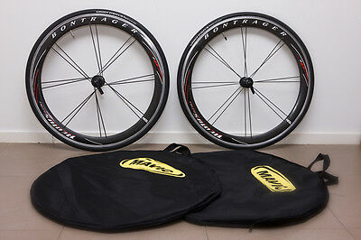 Bontrager HED Aeolus ACC 5.0 Carbon Clincher 10 Speed Wheelset - Great Condition