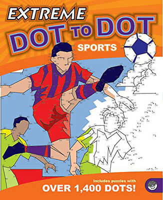 Extreme Dot To Dot Sports - Hard Dot 2 Dot Puzzle book for Children & Adults