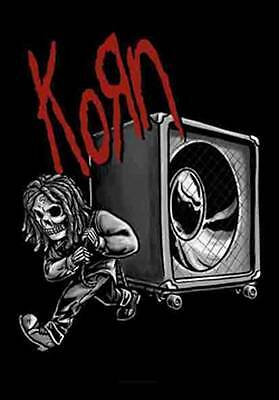 Korn Speaker  Music  Flags Wall Hanger Made In Italy Licensed Silk Screened  L