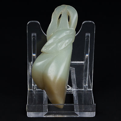 China 19./20. - A Chinese Carved Jade Lychee Pendant - Chinois Giada Cinese Qing