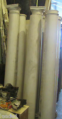 Early 1900 7 Foot + Heavy Wood Tapered Column Vintage Architectural Salvage