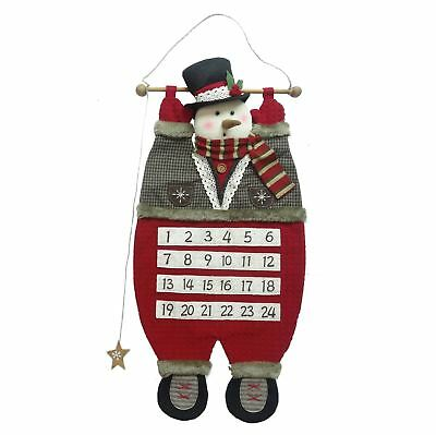 Snowman Hanging Traditional Advent Calendar Home Living by Juliana