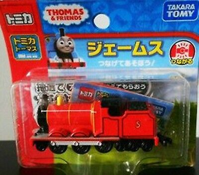 Tomy Tomica Thomas the Tank Engine Diecast Toy JAMES NEW 2012