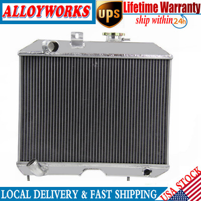 1941-1952 Jeep Willys MB Aluminum 3 Row Champion Radiator