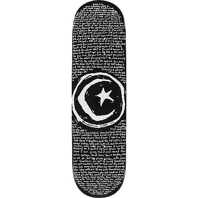 """Foundation Star and Moon Low Skateboard Deck, 8.37"""" x 32.75"""""""