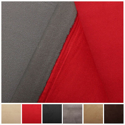 3Mm Scrim Foam Backed Faux Suede Car Trim Headlining Vehicle Upholstery Fabric