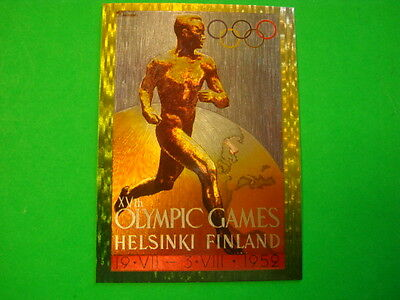 1995 Centennial Olympic Games Collection Poster Chase Card Number P-10