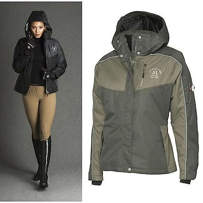 Mountain Horse Ladies Waterproof Outdoor Styled Reflective Riding Amber Jacket