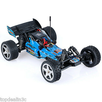 3-in-1 Wireless Radio Control 1/12 2.4Ghz 2WD Off-Road Full Scale Desert RC Car