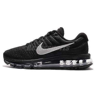 Wmns Nike Air Max 2017 Black White Women Running Shoes Sneakers 360 849560-001