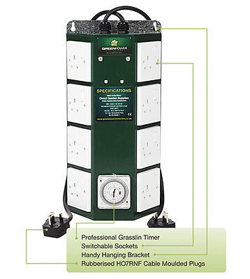 The Green Power 8 way Professional Contactor Timer