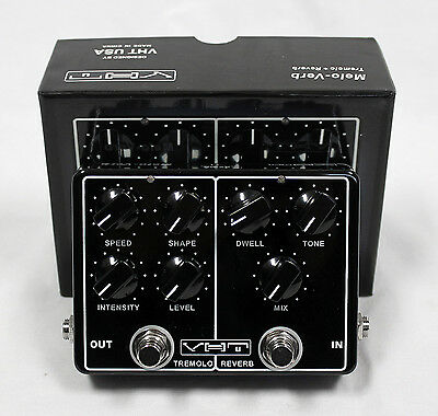 VHT AV-MV1 Melo-Verb Tremolo and Reverb Guitar Effects Pedal