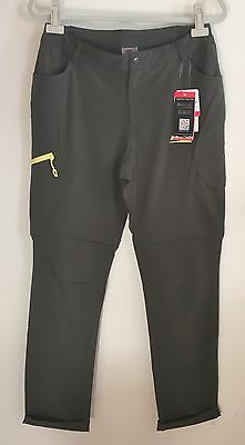 Makino Women's Convertible Quick Dry Lightweight Hiking Pant Army Green L165/70A