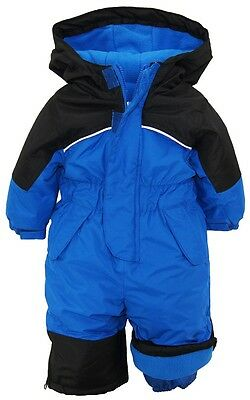 iXtreme Baby Boys Infant Snowmobile One Piece Winter Solid Snowsuit