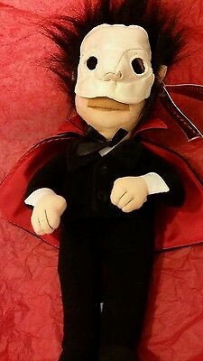 VERY RARE Phantom of the Opera cuddly toy. New with tags