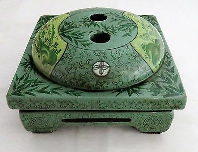 A Chinese Enamelled Yixing Censer With A Chen Mingyuan Seal 陳鳴遠 - 20Th
