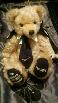 Hermann / Concorde Celebration mohair bear - Limited Edition 720 of 1976.