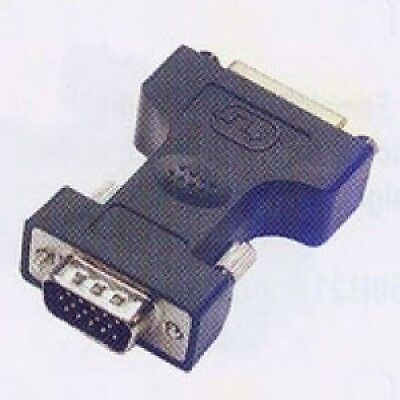 Adapter DVI-I 24+5 - HD15 F-M. Shipping Included