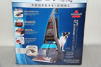 Bissell Proheat 2X Professional Pet Carpet Cleaner. Brand New