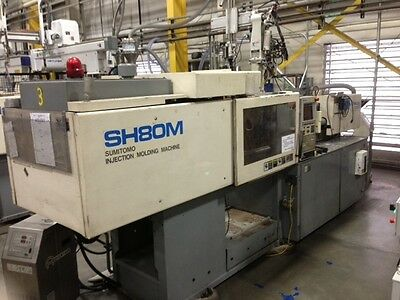 Sumitomo SH80M Injection Molding Machine    #1005S