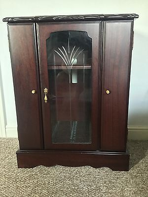 J.E.Coyle Hifi Cabinet With 2 Side Doors for CD's. Glass Door Pull Out For CD's