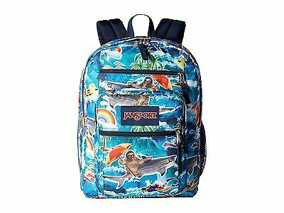 """Brand New 100% Authentic JanSport """"Wet Sloth"""" Big Student Backpack"""