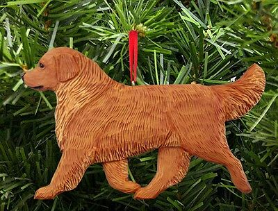 Golden Retriever Ornament Dark
