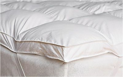 Duck Feather & Down  Goose Feather & Down Mattress Topper Matress Cover All Size