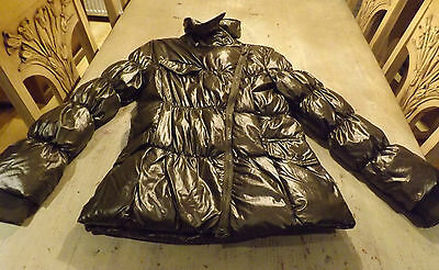 No-64-Rags-Industry-olive-green-designer-coat-hardly used 164cm age 14