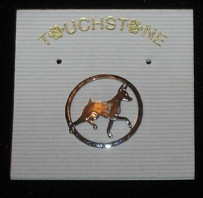 Touchstone Jewelry, a Pin/Brooch for Min Pin Lovers