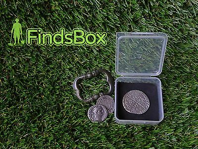 Ten Metal Detecting findsbox artefacts coins storage accessories minelab deus xp