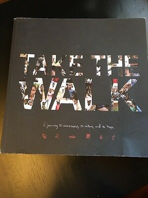 Hanson Official Take The Walk 115 Page Book