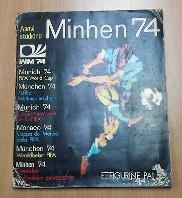 Munich 74 Fifa World Cup Complete Album With All Stickers Panini