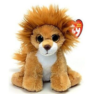 Midas the Lion Ty Beanie Babies Collection - Soft Toy - Plush