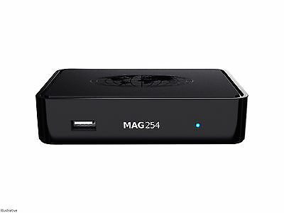 MAG 254 Genuine Original From Infomir Linux IPTV/OTT Box, Faster than MAG 250