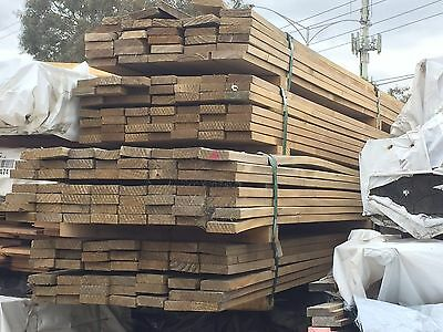 Treated Pine Decking H3 90x22 Pack Lot 162 LM 2nds Grade Deck Screening BP87