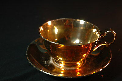 Royal Winton Gold   Cup and Saucer