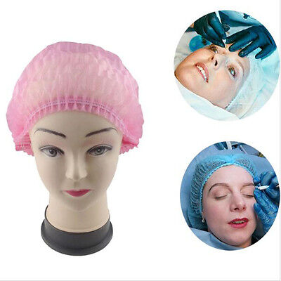 Disposable Stretch Hat Cap Permanent Makeup Supplies Hairnet Catering Spray