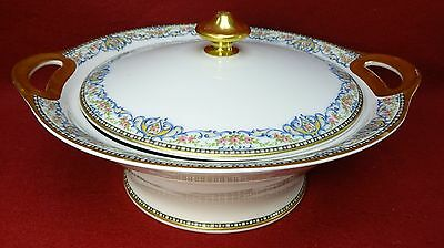 HAVILAND France Limoges RUMANIA Round Covered Serving Bowl - Schleiger 864