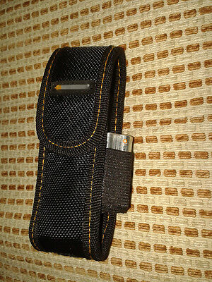 """HQ Nylon Sheath with adjustable belt loop for Flashlight with up to 4.52"""" length"""