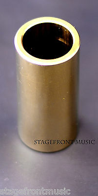 Jim Dunlop J224 Brass Guitar Slide. Heavy Wall. Bright Resonant Tone  -New